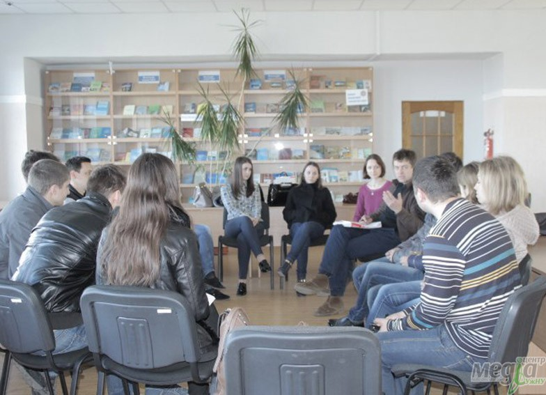 Career Center of UzhNU held its first leadership training