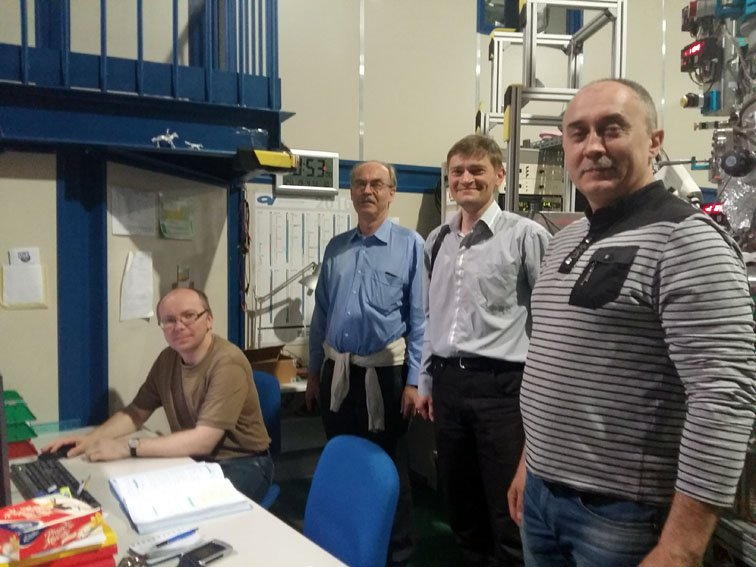 Physicists of UzhNU conducted research on synchrotron Elettra in Trieste