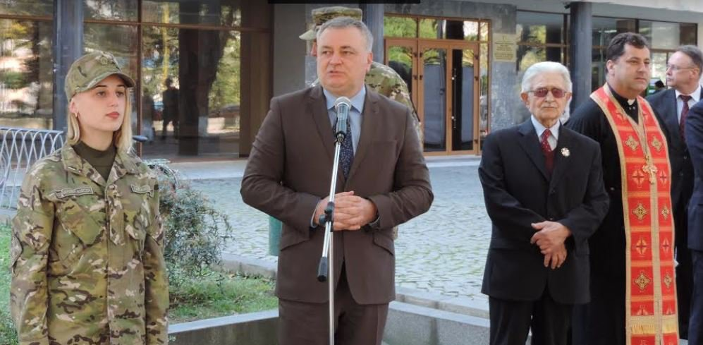 "Commemorative plaque ""To Heroes for freedom and independence of Ukraine"" was unveiled in Uzhhorod"