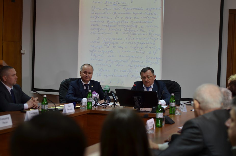 """Round table"" dedicated to the 78th anniversary of proclamation of Independence of Carpatho-Ukraine was held at UzhNU"