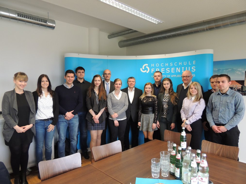 UzhNU continues cooperation with Fresenius University of Applied Sciences