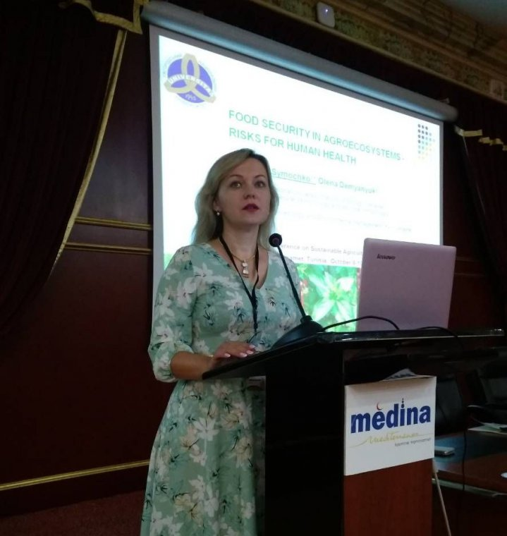 Associate Professor Ludmyla Symochko represented UzhNU at the international scientific conference in Africa