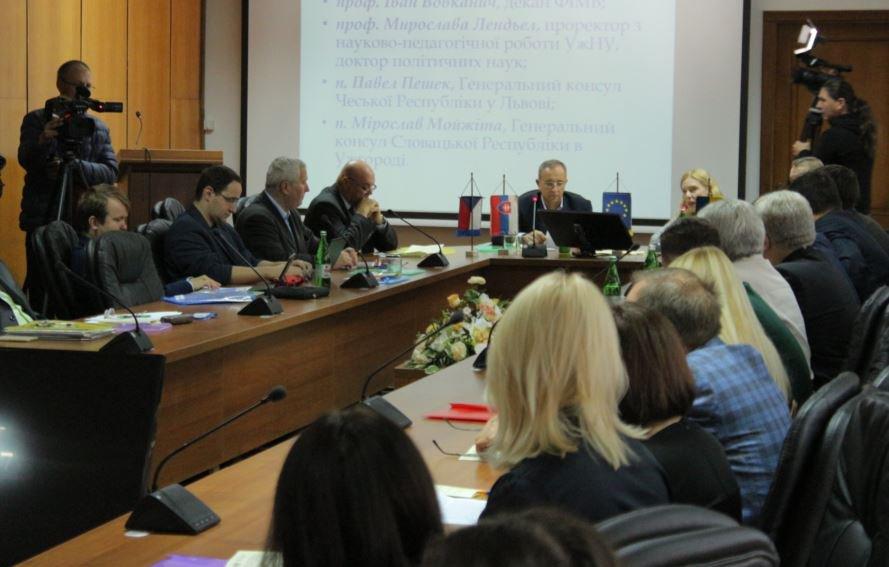 Про першу Чехословацьку республіку говорили на міжнародній науковій конференції в УжНУ