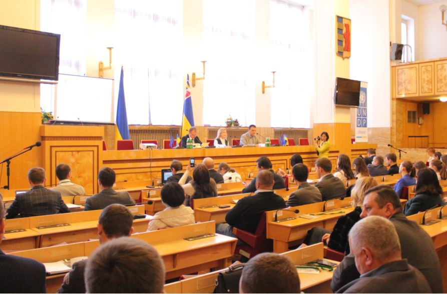 "Representatives of UzhNU took part in the conference ""Sustainable development of Transcarpathia: from strategy to specific actions"""
