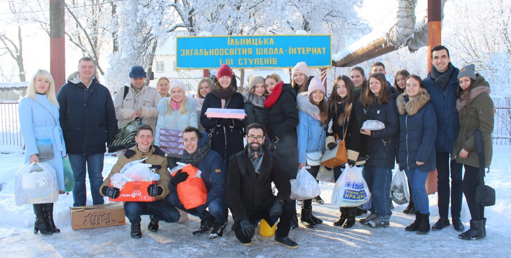 On St. Nicholas Day students of the Faculty of Economics organized the festivities for boarding school pupils