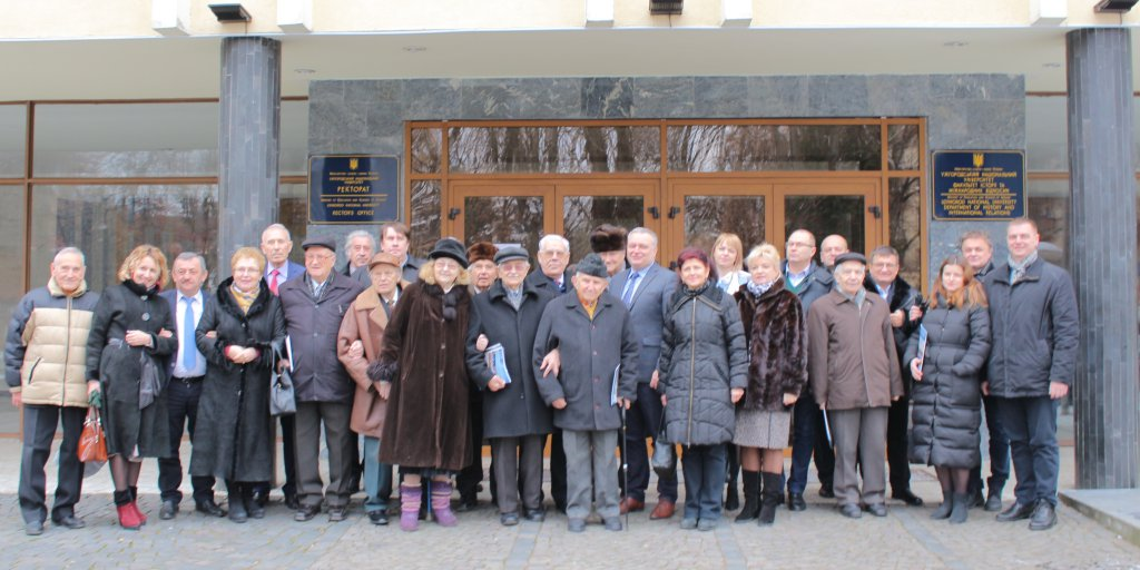 The Council and the Board of International UzhNU Alumni Association summarized the results of the work done in 2018