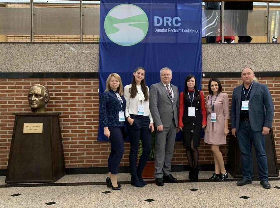 UzhNU delegation at the Danube Rectors' Conference
