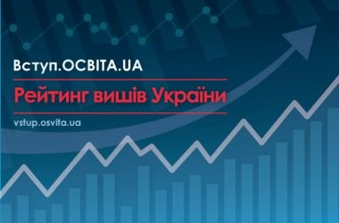 UzhNU made it to one of the top positions in the ranking of universities Vstup.osvita.ua