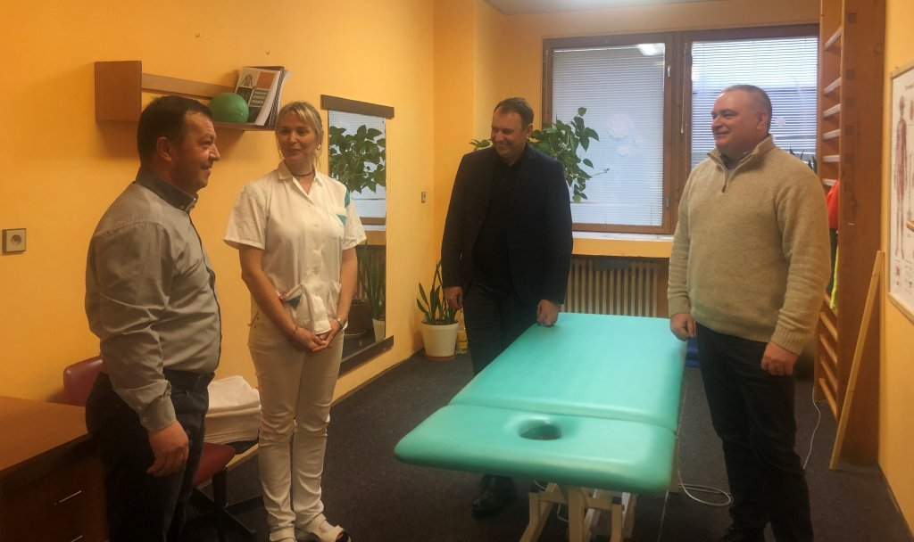 Students of the Faculty of Health and Physical Education will practice in one of the best rehabilitation centers of Slovakia